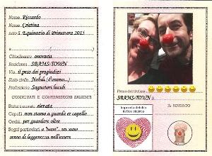 Carta d' Identità della leggerezza, creazione di Riccardo e Cristinai post seminario